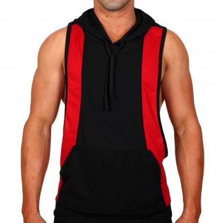 Bolt Hoody - Black - Red