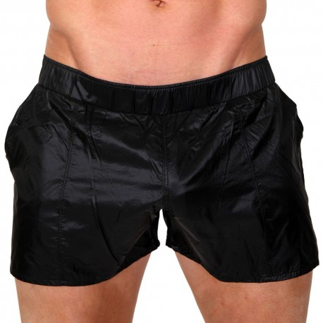 Chute Swim Short - Black