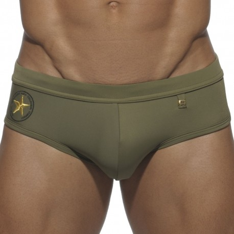 Picadilly Swim Brief - Khaki