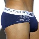 Geometric Brief - Navy