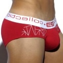 Geometric Brief - Red