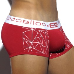 Shorty Geometric Rouge ES Collection
