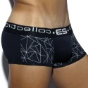Geometric Boxer - Black