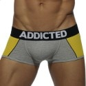 Combi Mesh Boxer - Grey - Yellow