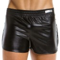 Short Leather Noir