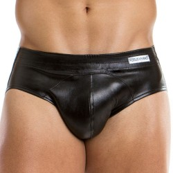 Leather Bottomless Brief - Black Modus Vivendi