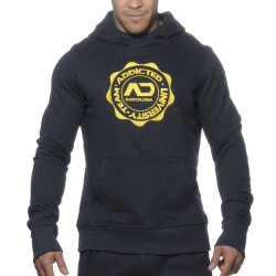Sweat-Shirt Hoody Stamp Marine Addicted