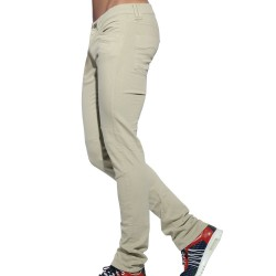 Pantalon Jeans Pocket Beige ES Collection