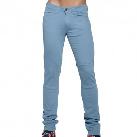 Pocket Jean Pants - Blue