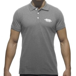 Polo Basic Plain Gris ES Collection