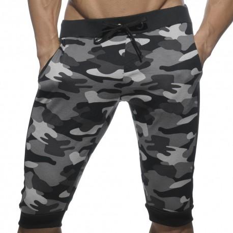 Bermuda Military Camouflage Noir