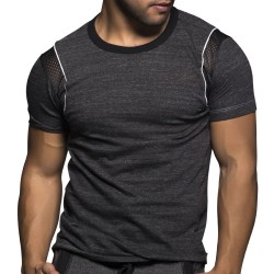T-Shirt Drill Anthracite Andrew Christian