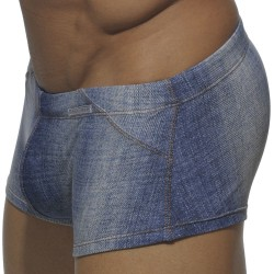 Boxer de Bain Printed Jeans Bleu Addicted
