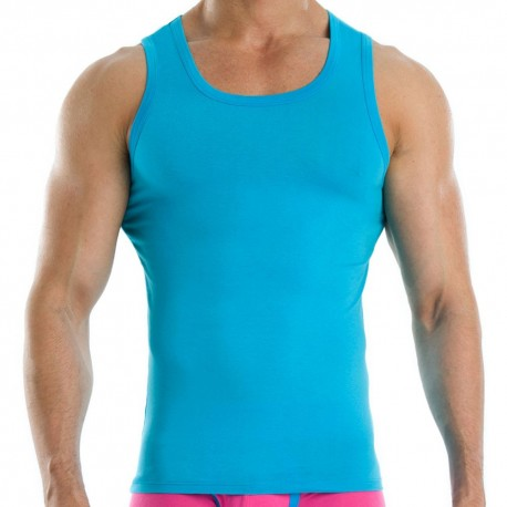 Neon Tank Top - Turquoise