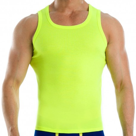 Neon Tank Top - Yellow