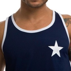 Star Tank Top - Navy - White Pump!