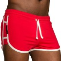 Cruise Short - Red - White