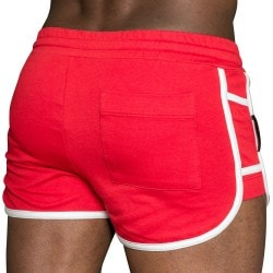 Short Cruise Rouge - Blanc TOF