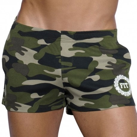 Fitness Short - Camouflage