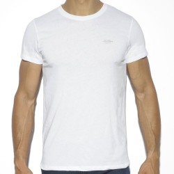 T-Shirt Basic Cotton Blanc ES Collection