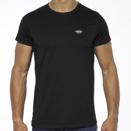 Basic Cotton T-Shirt - Black