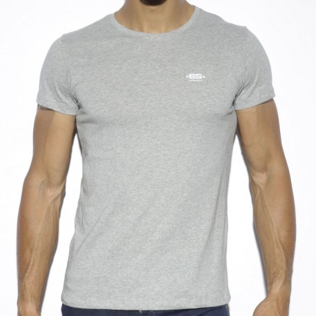 Basic Cotton T-Shirt - Grey