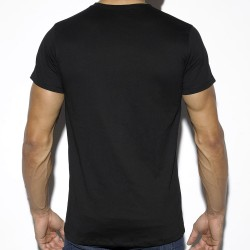 T-Shirt Basic Cotton Noir ES Collection