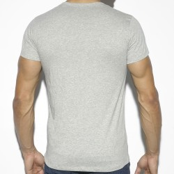 T-Shirt Basic Cotton Gris ES Collection