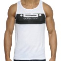 Logo Shape Tank Top - White