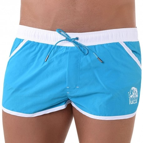 Hawaii Swim Short - Turquoise