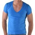 T-Shirt V-Neck Royal