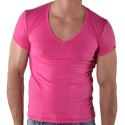 T-Shirt V-Neck Rose