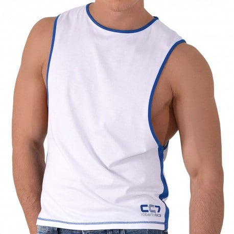 CC7 Tank Top - White