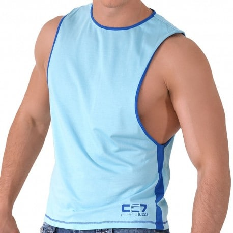 CC7 Tank Top - Turquoise