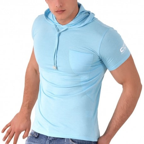 T-Shirt Hoody CC7 Turquoise