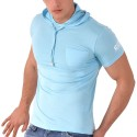T-Shirt Hoody CC7 Turquoise