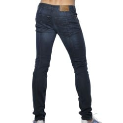 Pantalon Jeans Detail Back Seam Indigo Foncé ES Collection