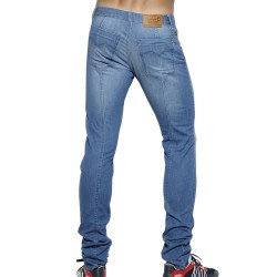 Pantalon Jeans Detail Back Seam Indigo Clair ES Collection