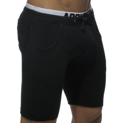 Bermuda Combined Waistband Noir Addicted