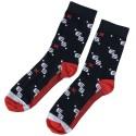 Logo X Socks - Navy