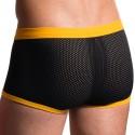 M602 Bungee Pants - Black - Yellow