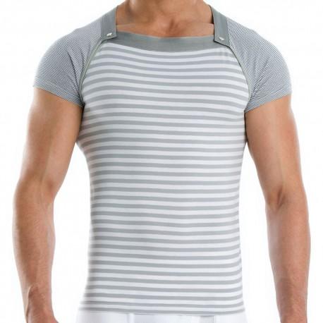 Wide Multi-Shirt - Grey