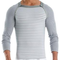 T-Shirt Multi Wide Gris Modus Vivendi