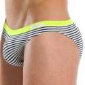 Narrow Mini Brief - Sailor - Yellow