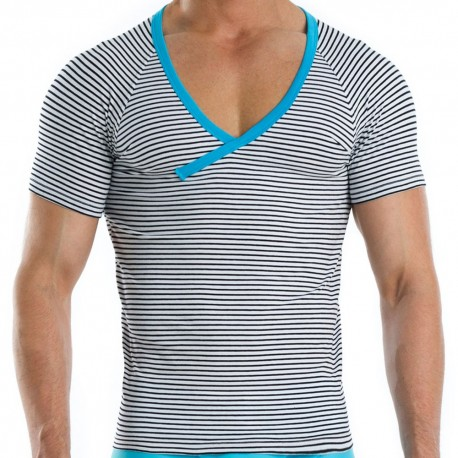 T-Shirt Narrow Marin - Turquoise