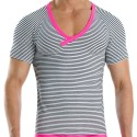 Narrow T-Shirt - Sailor - Fuchsia