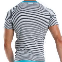 T-Shirt Narrow Marin - Turquoise Modus Vivendi