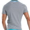 Narrow T-Shirt - Sailor - Turquoise