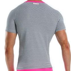 T-Shirt Narrow Marin - Fuchsia Modus Vivendi