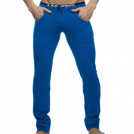 Combined Waistband Pants - Royal
